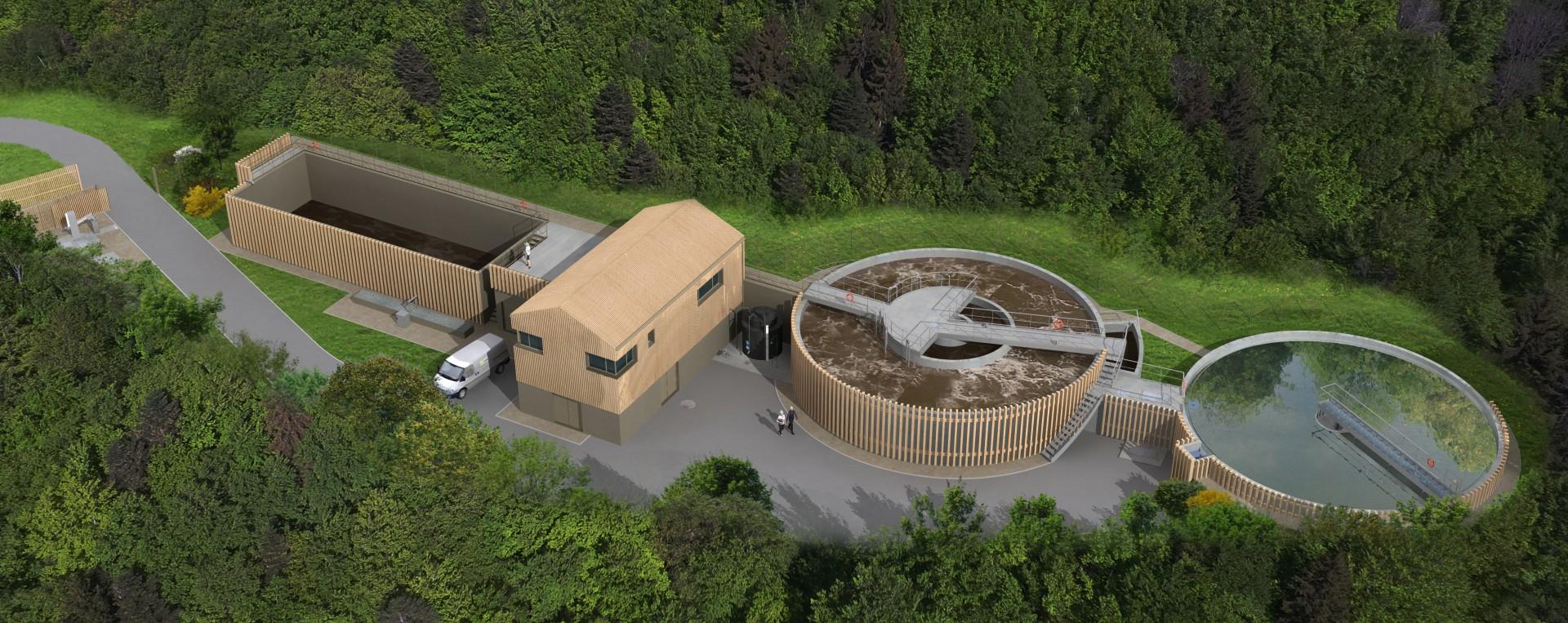 Future station d'épuration de Saint-Victor-sur-Loire