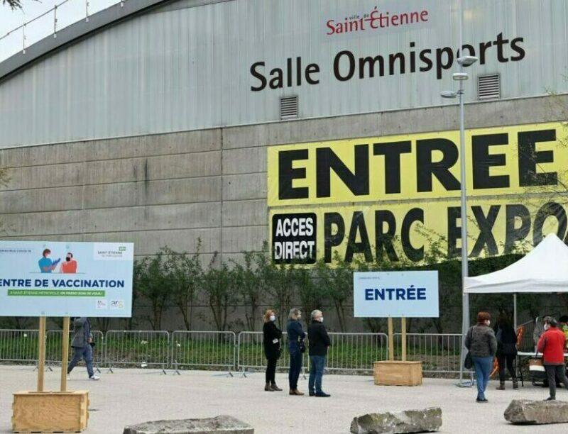 Centre vaccination Saint-Étienne