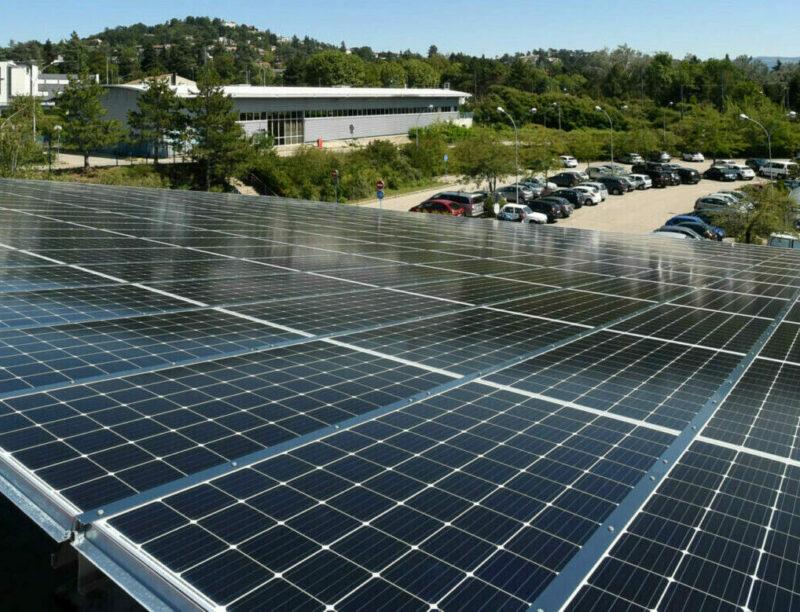 Panneaux photovoltaïques saint-Étienne Métropole