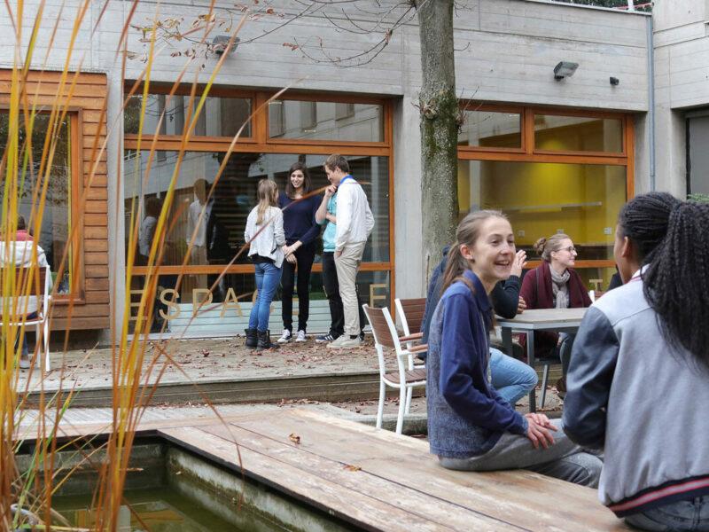 Etudiants à Saint-Étienne