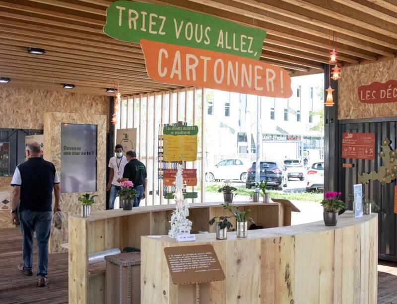 Foire - Stand de Saint-Étienne Métropole