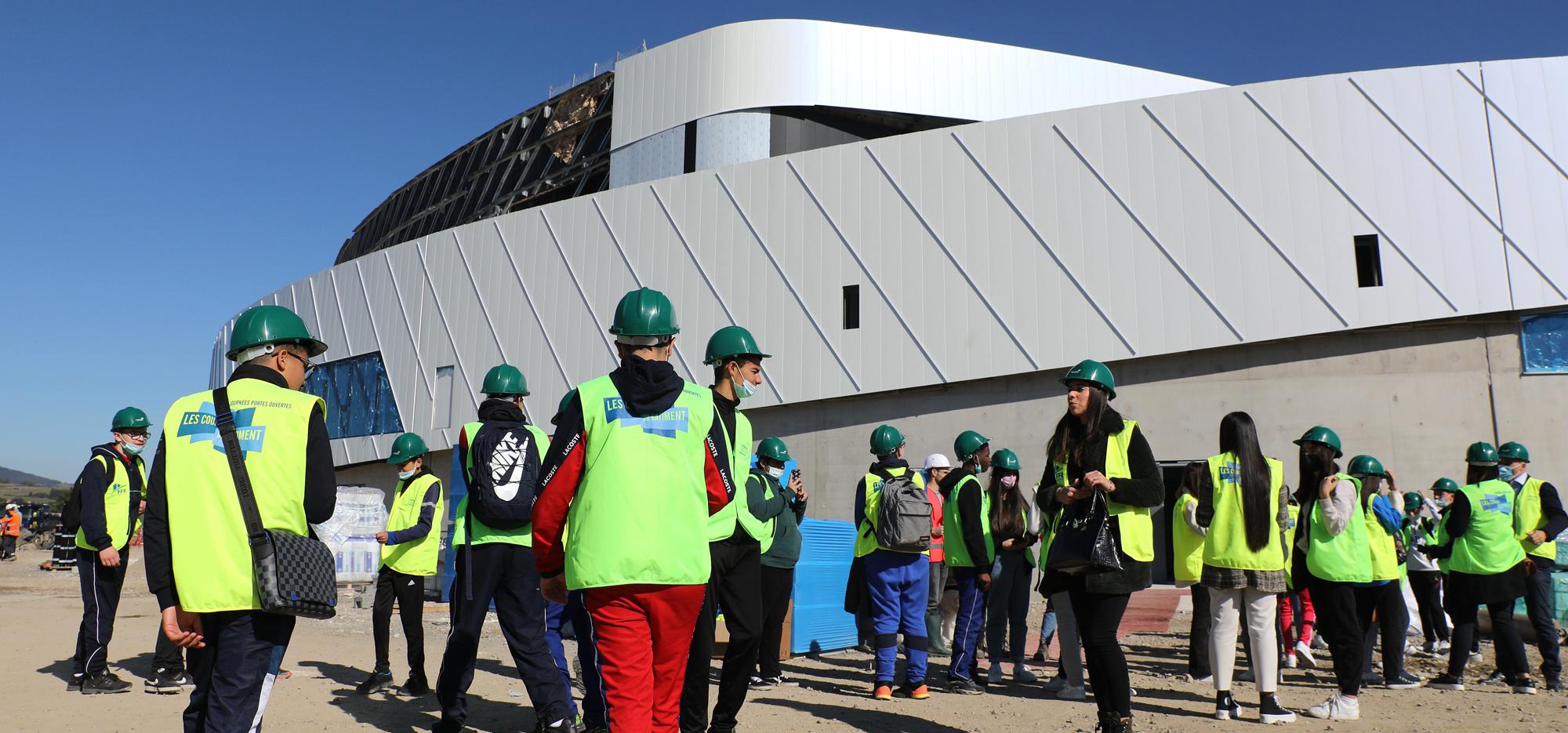 Visite de l'Arena de Saint-Étienne Métropole