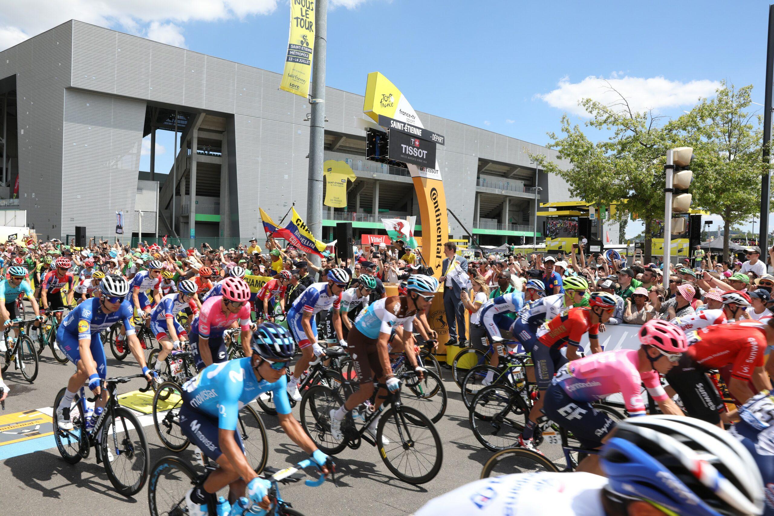 Tour de France 2022 à Saint-Étienne
